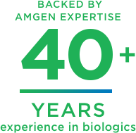 Amgen Biologics – 40 years of experience